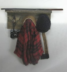 Bird Watcher's Coat Rack
