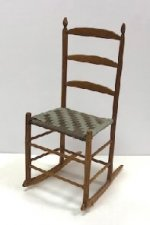 Shaker Woven Rocking Chair #2