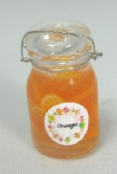 Orange Slices in Jar