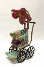 Baby Stroller with Flower Umbrella