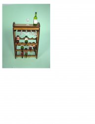 Wine and Stemware Cart