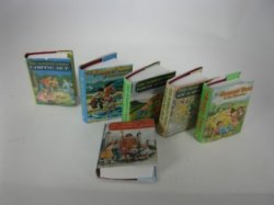 Bobbsey Twins Books (blank), Modern, Set of 6