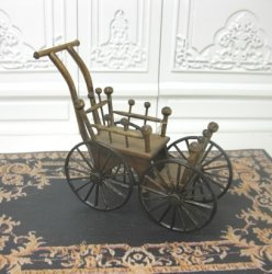 Wooden Stroller by David Krupick