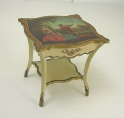 Painted Occasional Table by Paul Saltarelli