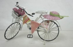 Shabby Chic Bicycle, White