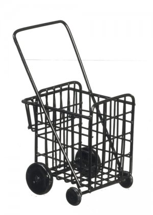 Black Grocery Cart