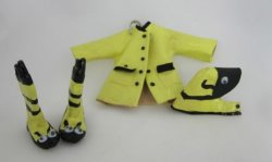 Child's Critter Rain Set, Yellow Bumblebee