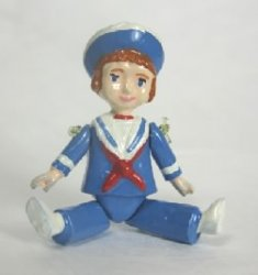 Jointed Sailor Doll by Warwick Miniatures
