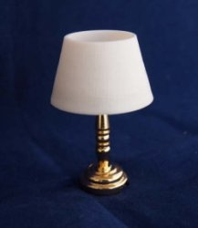 Battery Operated LED Lexington Table Lamp, Brass Finish