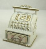 Shabby Chic Cash Register, Off White