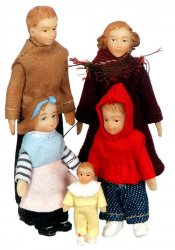 Half-Inch Scale Family of Five
