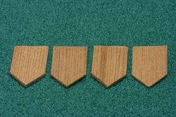 Cedar Shingles, Diamond, 1000