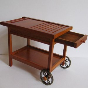 Backyard Barbecue or Serving Cart