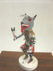 Wolf Kachina by Gil Maldonado