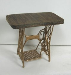 """Repurposed"" Sewing Machine Table"