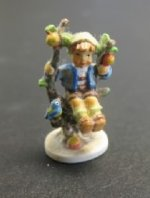 "Goebel Hummel ""Busy Apple Tree Boy"""
