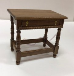 Charles II Side Table, Walnut