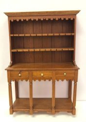 Cherry Welsh Cupboard by Tom Wolfert