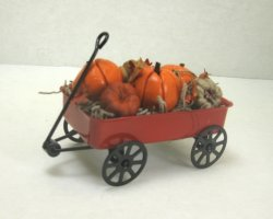 Pumpkin-Filled Wagon