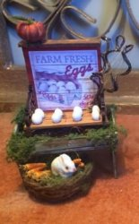 Farm Fresh Egg stand