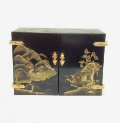 "Chinese ""Lacquered"" Chest"