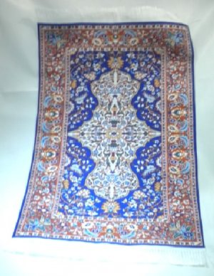 Woven Turkish Carpet, Large #07