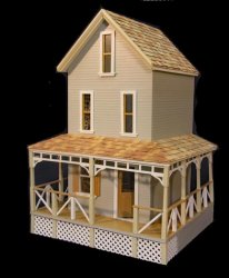 Willow Ridge Dollhouse Kit