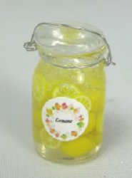 Lemon Slices in Jar