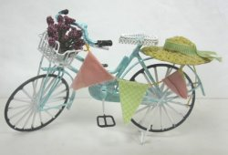 Shabby Chic Bicycle, Blue