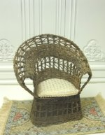 Wicker Chair by Leilani Warling
