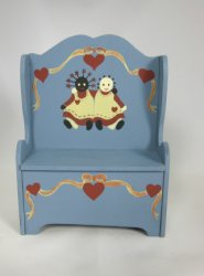 Friendship Bench, Blue