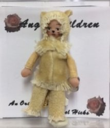 Cowardly Lion Doll