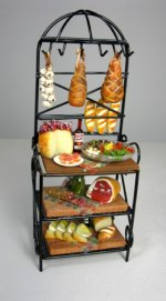 Italian Food on Baker's Rack by Ysinia Slater