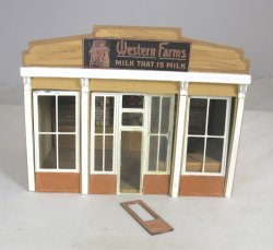 "1/4"" ""Western Farms"" Dairy Shop by Sue Hoeltge"