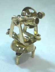 Brass Ship's Theodolite