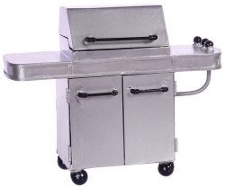 Deluxe Silver Barbecue Grill