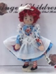 Raggedy Girl Doll