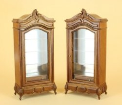 Beverly Display Cabinets, Pair - Special Price