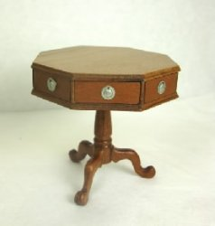 Octagonal Jefferson Table in Cherry