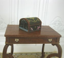 Painted Chest with Nautical Theme by Paul Saltarelli