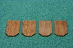 Cedar Shingles, Hexagonal, 1000