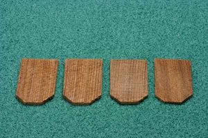 Cedar Shingles, Hexagonal, 250