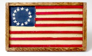 American Flag Tray or Wall Hanging