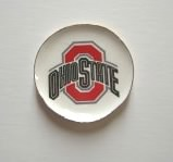 Ohio State Ceramic Platter by By Barb