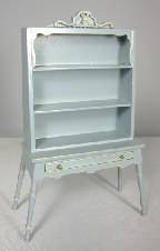 Honeymoon Cottage Hutch, Blue