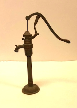 Metal Water Pump made by Artisan Ron Bufton