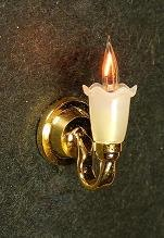 "Cir-Kit 1/2"" Scale Tulip Sconce"