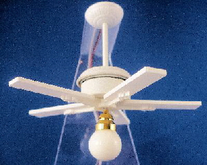Bermuda Working Ceiling Fan with Light