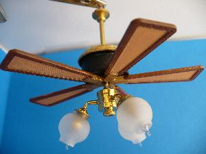 Working Savannah Ceiling Fan