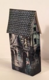 Lithographed Halloween House Kit